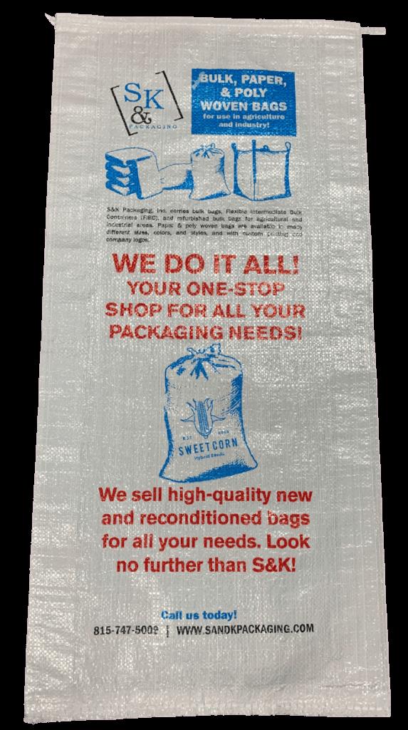 Custom printed bag