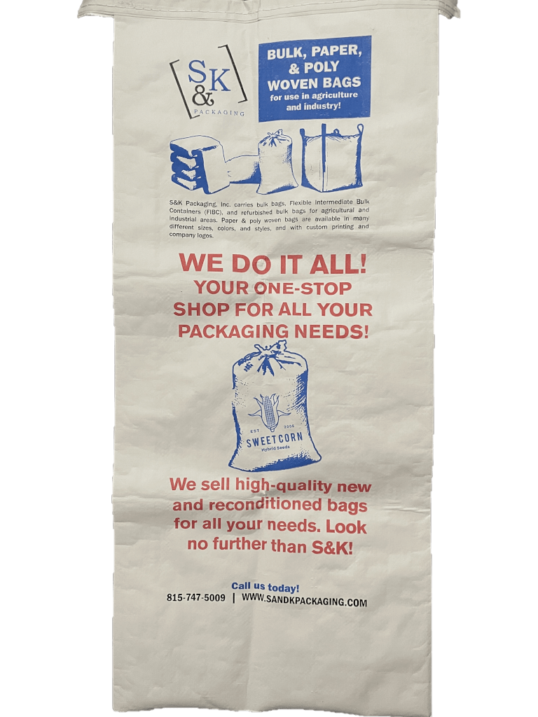 Paper Laminated Poly Bags – Not The Average Paper Bag